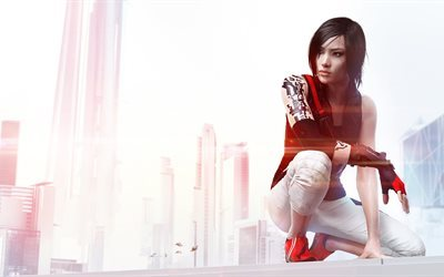 character, xbox one, mirrors edge, catalyst, ps4, faith, action, adventure