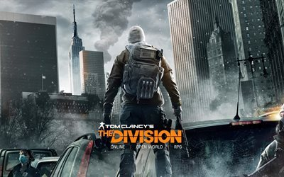 rpg, ps 4, division, 2016, xbox one, shooter, poster, tom clancys, ubisoft massive, windows
