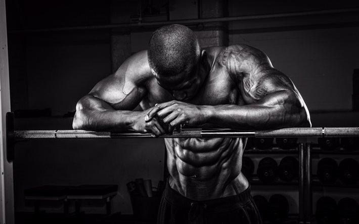 Bodybuilding Training Athlete Rod Muscle Sport