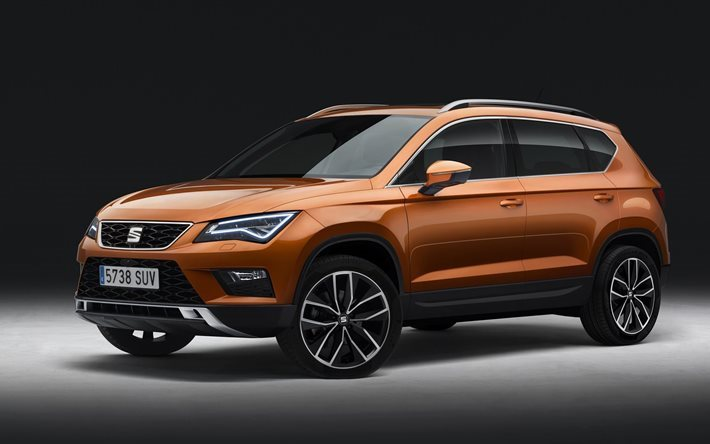 Download Wallpapers Crossover 2017 Vehicle Seat Ateca