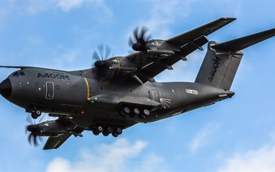 turboprop, military, atlas, a400m, airbus, transport aircraft, airbus military