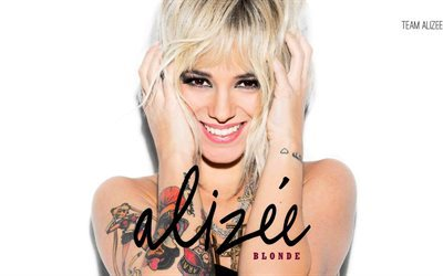 alizee, tattoo, singer, french