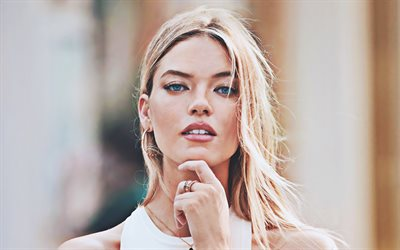Martha Hunt, 2020, american celebrity, blonde woman, american top models, Victorias Secret Angel, beauty, Martha Hunt photoshoot