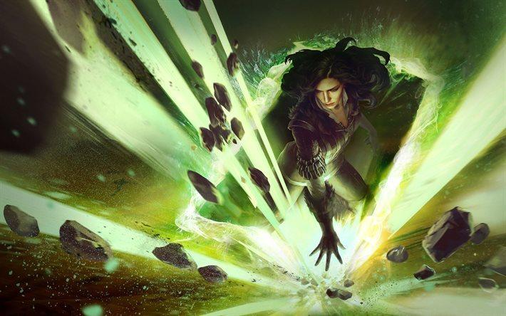 Descargar Fondos De Pantalla The Witcher 3 Yennefer