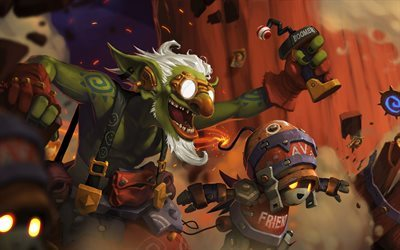 Hearthstone, Heroes of Warcraft, Goblin Boomaster