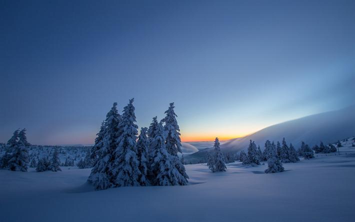 Fondo De Pantalla Paisaje Montañas Nevada: Descargar Fondos De Pantalla Invierno, Montaña, Paisaje