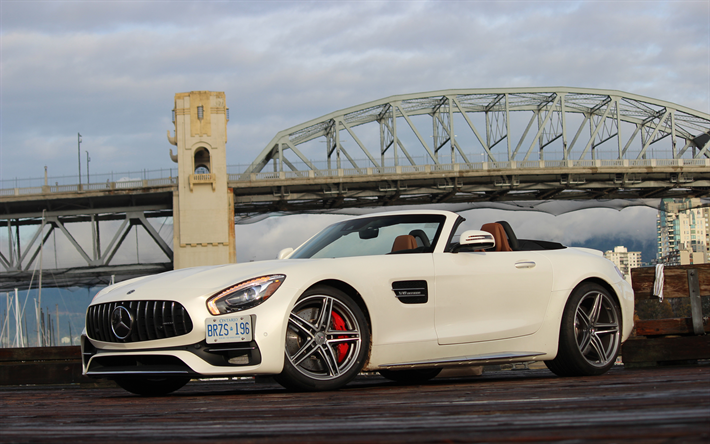 Download Wallpapers Mercedes-AMG GT C, 4k, 2018 Cars