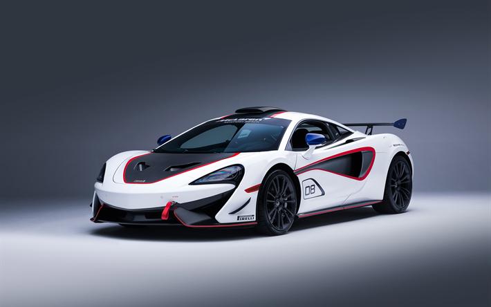 Download Wallpapers McLaren S MSO White Hypercar Sports - Sports cars mclaren