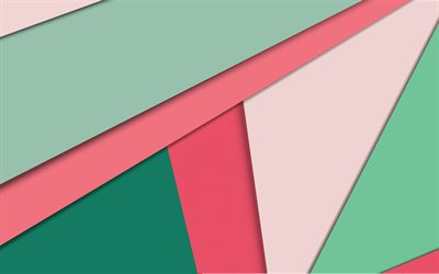 colorful abstraction, retro backgrounds, lines background, geometric abstraction, material design