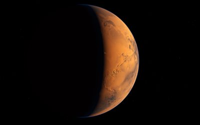 Mars, red planet, outer space, Solar System, planets