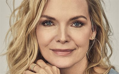 Michelle Pfeiffer, American actress, portrait, gray beautiful eyes, photoshoot, popular actresses