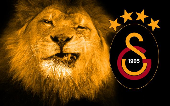 Télécharger Fonds Décran Galatasaray Lion Logo Club De