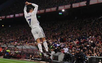 Cristiano Ronaldo, le Real Madrid, le but, football, Espagne, Ronaldo