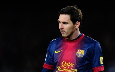 Leo Messi, les stars du football, match, Barcelone, Lionel Messi