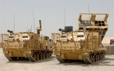 m270 multiple launch rocket system, m270 mlrs, schwere waffe