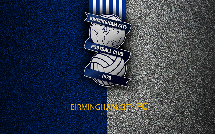Download Wallpapers Birmingham City FC, 4K, English
