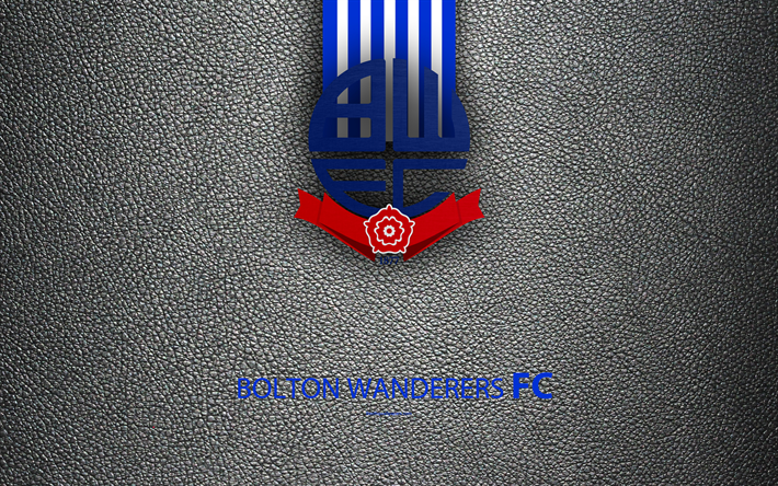 Download Wallpapers Bolton Wanderers FC, 4K, English