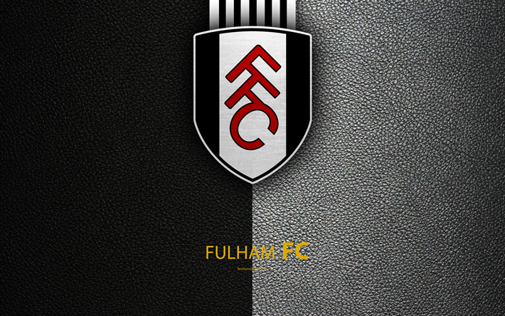Download Wallpapers Fulham FC, 4K, English Football Club