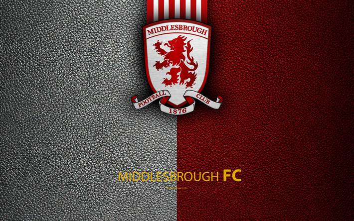 Download Wallpapers Middlesbrough FC, 4K, English Football