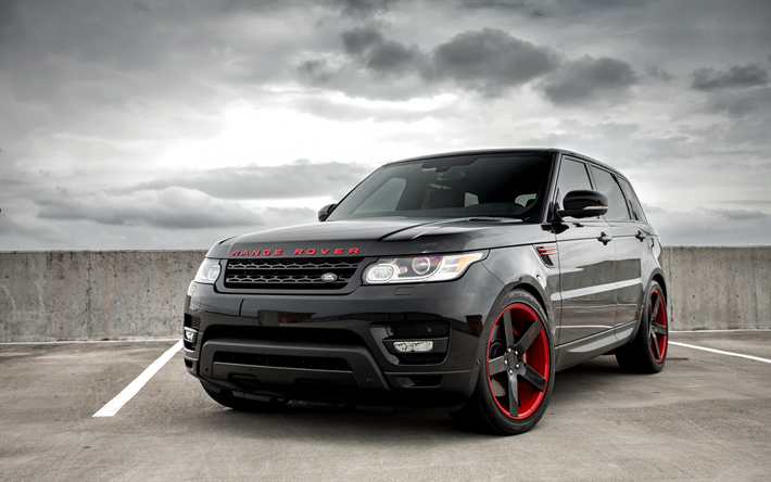 Download wallpapers Land Rover, Range Rover Sport, 2017 ...