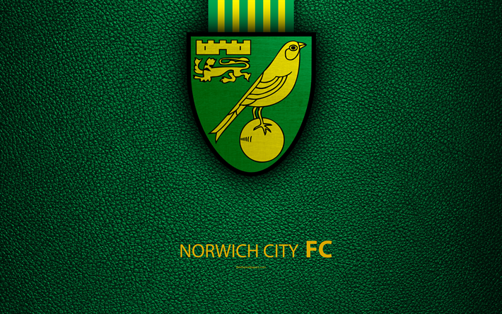 Download Wallpapers Norwich City FC, 4K, English Football
