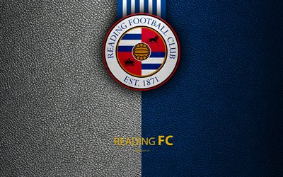 Download wallpapers Reading FC 4K English football club