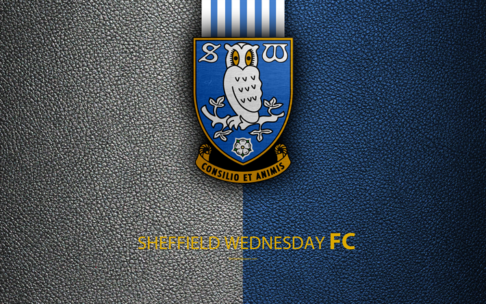 Download Wallpapers Sheffield Wednesday FC, 4K, English