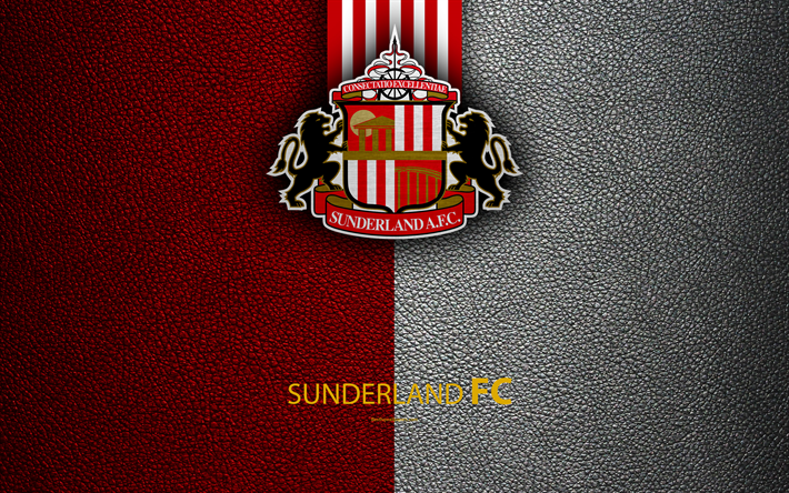 Download Wallpapers Sunderland FC, 4K, English Football