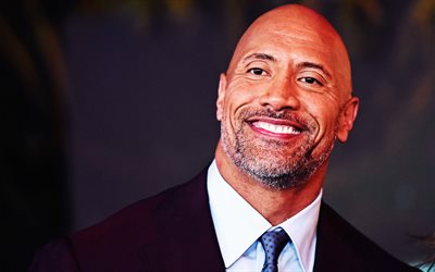 Dwayne Johnson, 4k, photo shoot, portrait, American actor, wrestler, The Rock