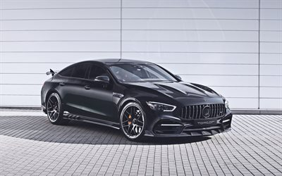4k, TopCar Mercedes-AMG GT 63 S, HDR, tuning, 2020 cars, supercars, TopCar Design, german cars, Mercedes