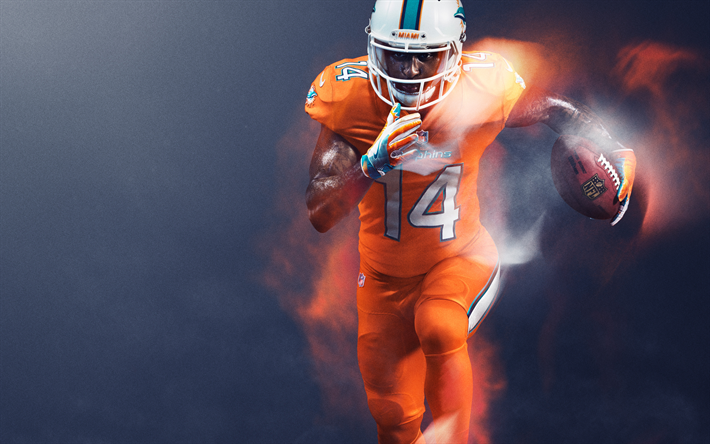 Download wallpapers jarvis landry miami dolphins - Jarvis wallpaper 4k ...