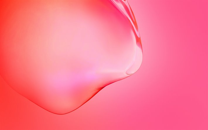 Download Wallpapers Samsung Galaxy S11 Stock Wallpaper Red Background With Water Drop Red Abstraction Samsung For Desktop Free Pictures For Desktop Free