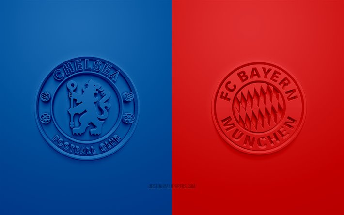 Download Wallpapers Chelsea FC Vs FC Bayern Munich, UEFA