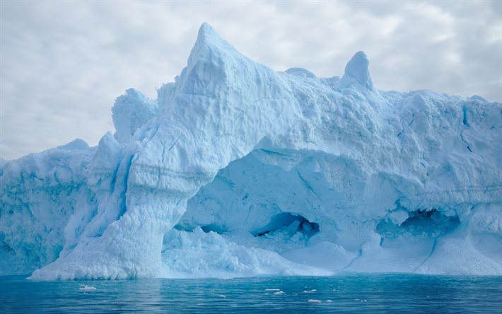 Iceberg, The Arctic Ocean, ice, water concepts, melting glaciers concepts