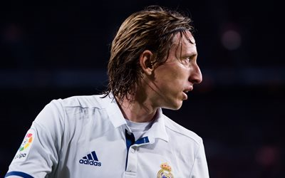 Luka Modric, football stars, match, Real Madrid, footballers, La Liga