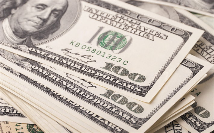 Download Wallpapers 100 Dollar Bills Money American