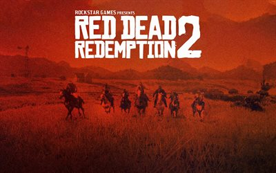 Red Dead Redemption 2, poster, 2020 games, action-adventure, RDR2, Red Dead Redemption II