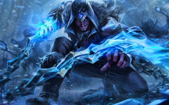 Sylas, MOBA, League of Legends, 2020 spel, krigare, konstverk, Sylas League of Legends