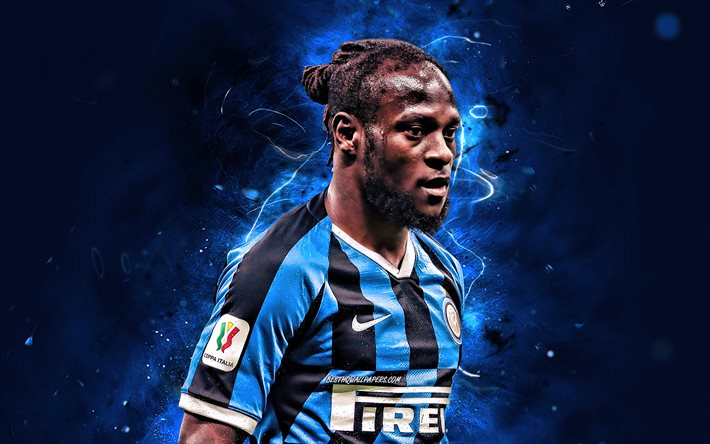 Download Wallpapers Victor Moses, 2020, Internazionale