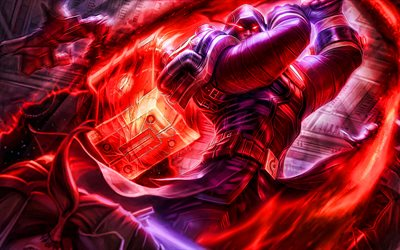 Jayce, MOBA, Caulfields Warhammer, League of Legends, 2020 games, warrior, artwork, Jayce League of Legends