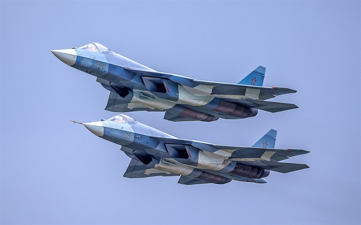 Su 57 PAK FA Russian Fighter 5th Generation Air Force