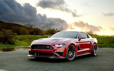 roush, tuning, ford mustang tv r2650 stufe iii, supercars, 2019 autos, amerikanische autos, 2019 ford mustang, ford