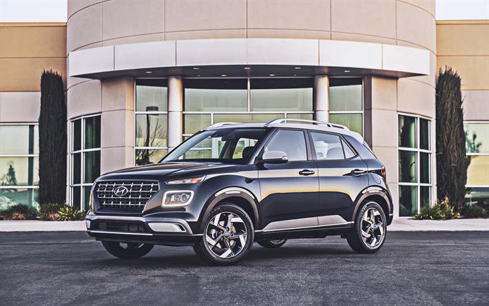 Download Wallpapers Hyundai Venue 4k Crossovers 2019 Cars Korean
