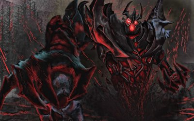 Shadow Demon, tinieblas, Dota 2, monster, guerreros, Dota2, Shadow Demon Dota