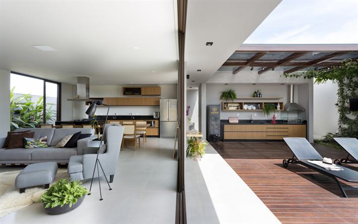 Scarica sfondi eleganti interni di una casa di campagna for Arredamento illuminazione interni