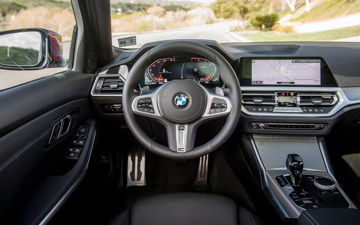 Herunterladen Hintergrundbild Bmw M3 Innen G20 2019 Autos