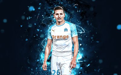 Download Wallpapers Florian Thauvin White Uniform