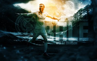 Gareth Bale, Real Madrid, Spain, football, Welsh football player