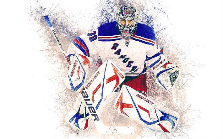 Download wallpapers Henrik Lundqvist, 4k, New York Rangers ...