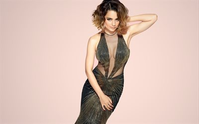 Kangana Ranaut, Indian actress, beautiful evening dress, photo shoot, Indian fashion model, Bollywood